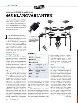 MPS-750 E-Drum Mesh Set
