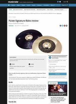 Paiste Signature Rides
