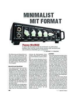 Peavey MiniMax