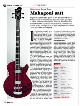 Hagstrom Swede Bass