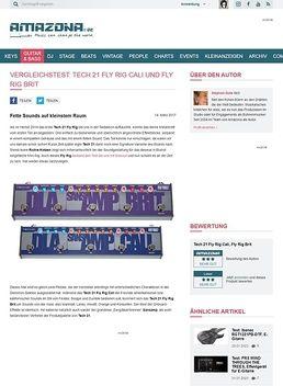 Vergleichstest: Tech 21 Fly Rig Cali und Fly Rig Brit