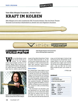 """Vater Mike Mangini Drumsticks """"Wicked Piston"""""""