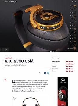 AKG by Harman N-90Q LE Gold