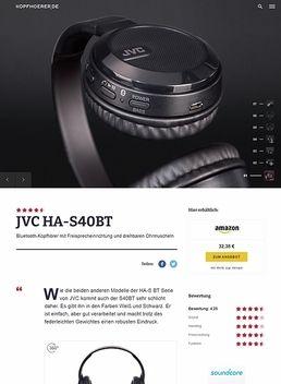 JVC HA-S40BT Black