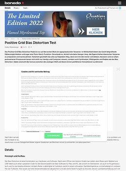 Positive Grid Bias Distortion