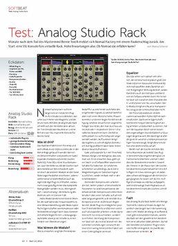 Analog Studio Rack