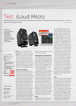 iLoud Micro Monitor + Audient iD4