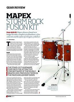 Mapex Storm Rock Fusion Kit