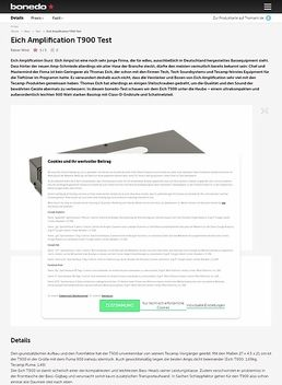 Eich Amplification T900 Test
