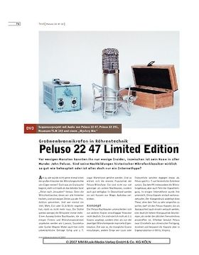 Peluso 22 47 Limited Edition