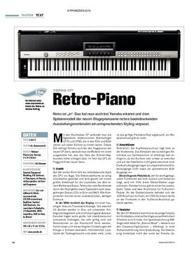 Test: Yamaha CP1 - Retro-Piano
