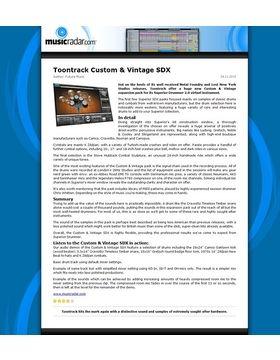 Toontrack Custom & Vintage SDX