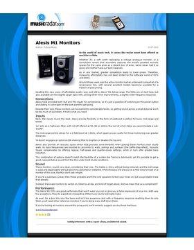 Alesis M1 Monitors