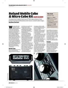 Roland Mobile Cube