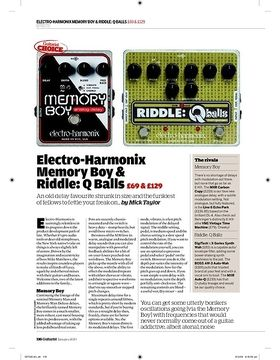 ElectroHarmonix Memory Boy
