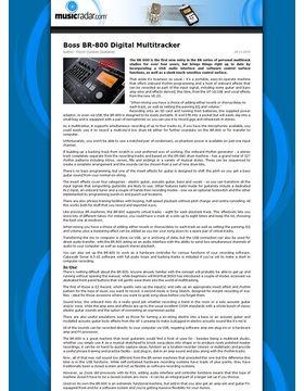 Boss BR-800 Digital Multitracker