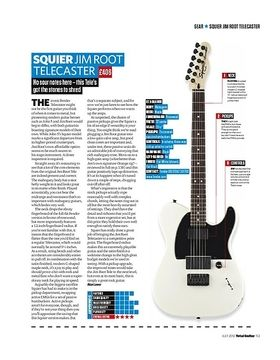 SQUIER JIM ROOT TELECASTER