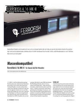 Ferrofish A 16 MK-II 16-Kanal-AD/DA-Wandler