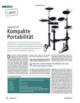 Test E-Drumset: Roland TD-4 KP