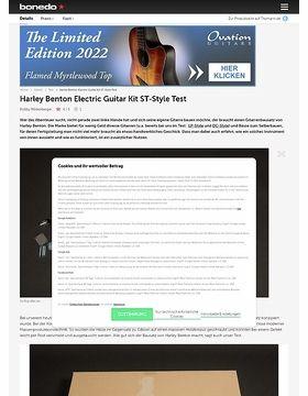 Harley Benton Electric Guitar Kit ST-Style