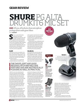 Shure PG Alta Drumkit6 Mic Set