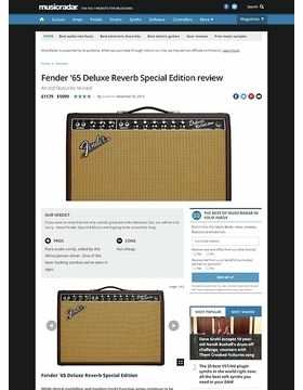Fender '65 Deluxe Reverb Special Edition