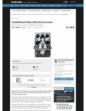 Catalinbread Dirty Little Secret