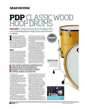 PDP Classic Wood Hoop Drums