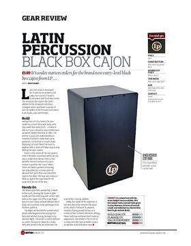 Latin Percussion Black Box Cajon