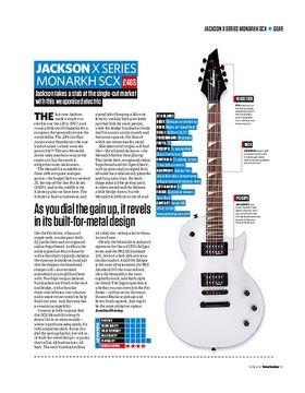 Jackson X Series Monarkh SCX