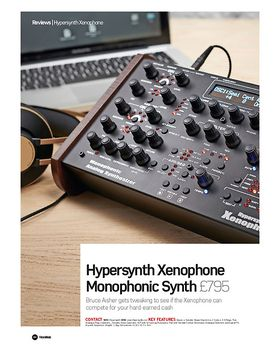 Hypersynth Xenophone Monophonic Synth