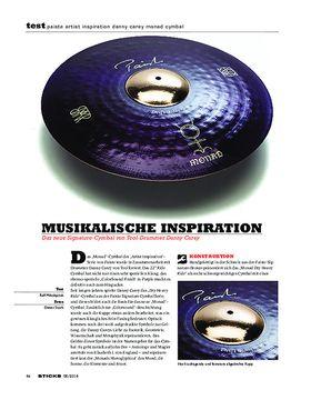 Paiste Artist Inspiration Danny Carey Monad Cymbal