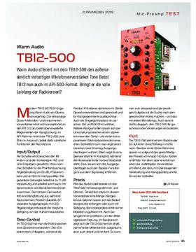 Warm Audio TB12-500