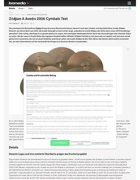 Zildjian A Avedis 2016 Cymbals