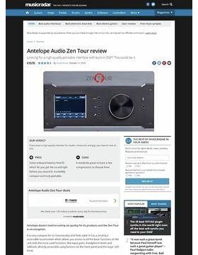 Antelope Audio Zen Tour