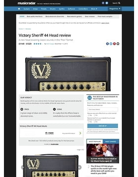 Victory Sheriff 44 Head