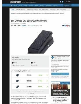Dunlop Cry Baby GCB-95