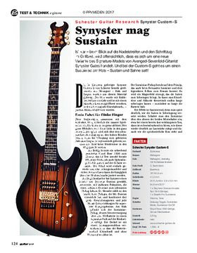 Schecter Guitar Research Synyster Custom-S