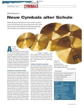 Instrumente & Technik: Meinl Byzance