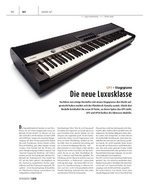 Keyboards Yamaha CP1 - Stagepiano