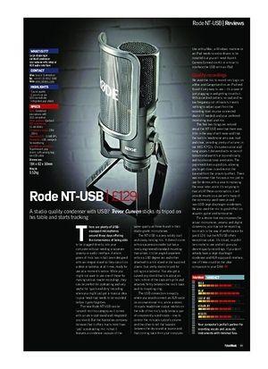 Future Music Rode NT-USB