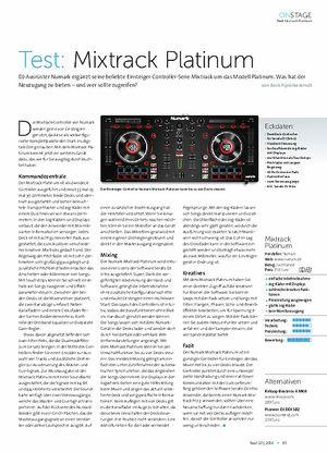 Beat Mixtrack Platinum