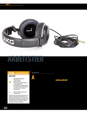 Professional Audio AKG K182