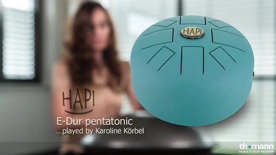 Asian Sound HAPI Drum E-Dur pentatonic