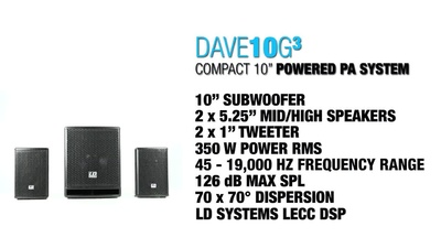 LD Systems Dave 10 G3 PA