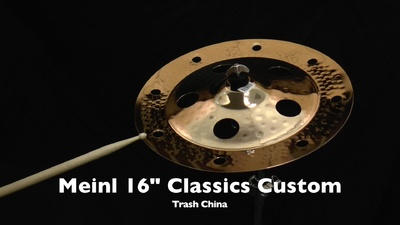 Meinl 16 Classics Custom Serie Trash China