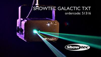 Showtec Galactic TXT