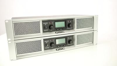 QSC GXD 4/8: Installations-Endstufen